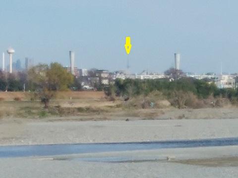 多摩川中野島取水口