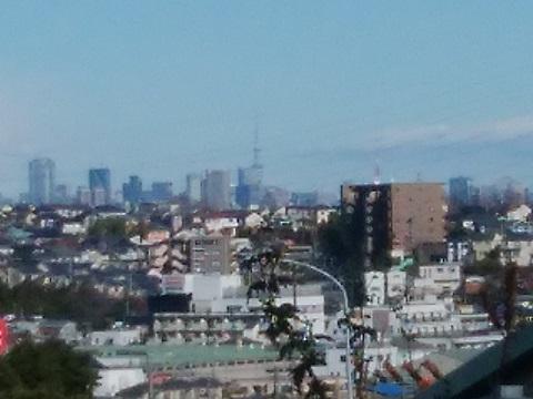野川南台第三京浜橋付近