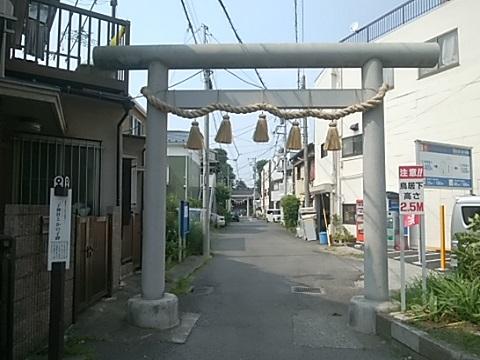 二子神社鳥居