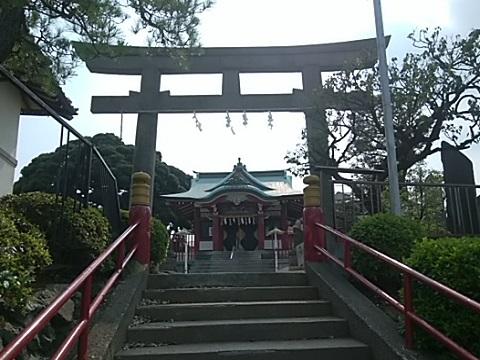 末長杉山神社鳥居