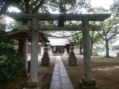 五反田神社鳥居