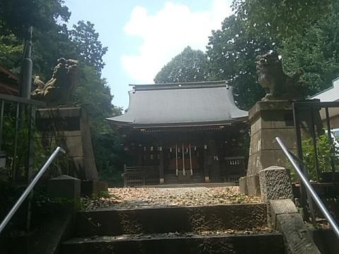 子之神社狛犬