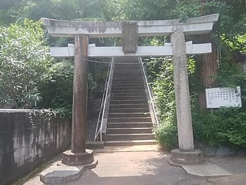 子之神社鳥居