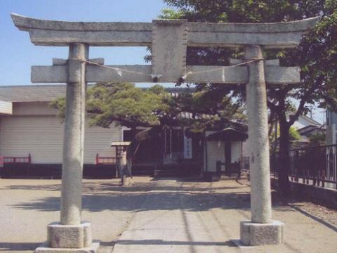 菅八雲神社鳥居