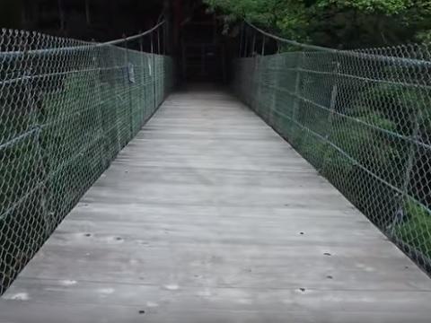 甲武キャンプ場橋
