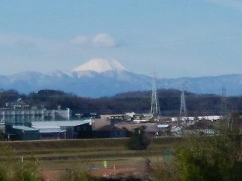 宇奈根1丁目富士山