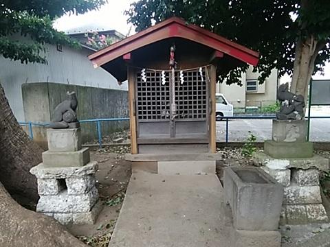 馬場神明社神楽殿