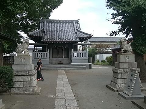馬場神明社狛犬