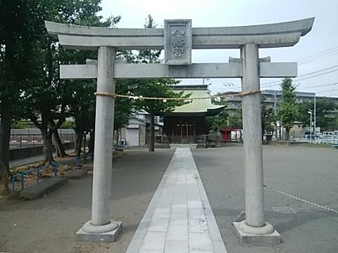 江ヶ崎八幡神社鳥居