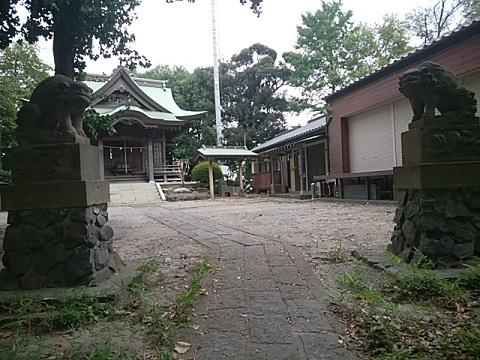 上の宮八幡神社狛犬