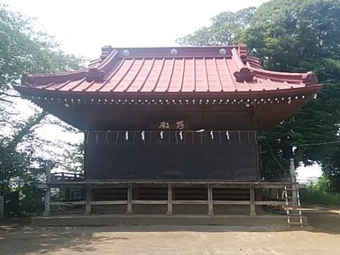 杉山神社舞殿