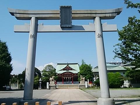 潮田神社鳥居