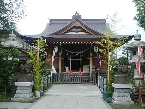 矢向日枝神社