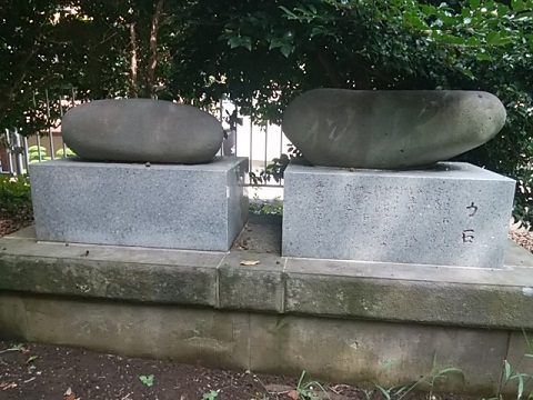 勝田杉山神社力石
