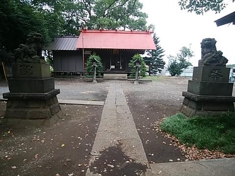 大熊杉山神社狛犬