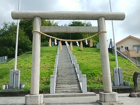 山田神社鳥居