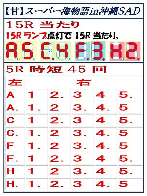沖縄 スーパー 海 4 セグ 物語 in